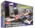 SCX Digital 6-Car Powerbase