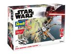 Poes Boosted X-wing Fighter