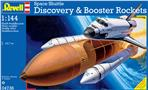 Space Shuttle Discovery+Booster Rockets